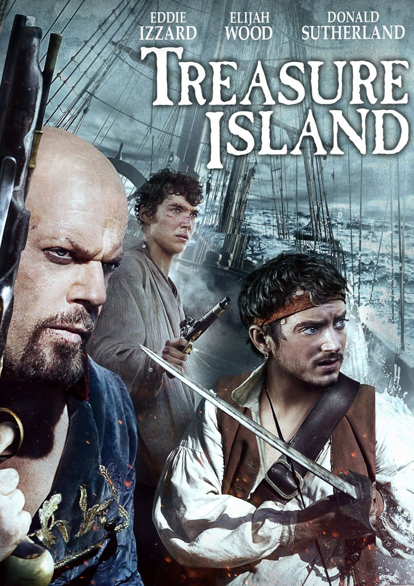 treasure island As fearless adventurer jim hawkins sets sail to a remote island rumored to house untold riches, enigmatic cook john silver (eddie izzard) hatches a plan that puts the.